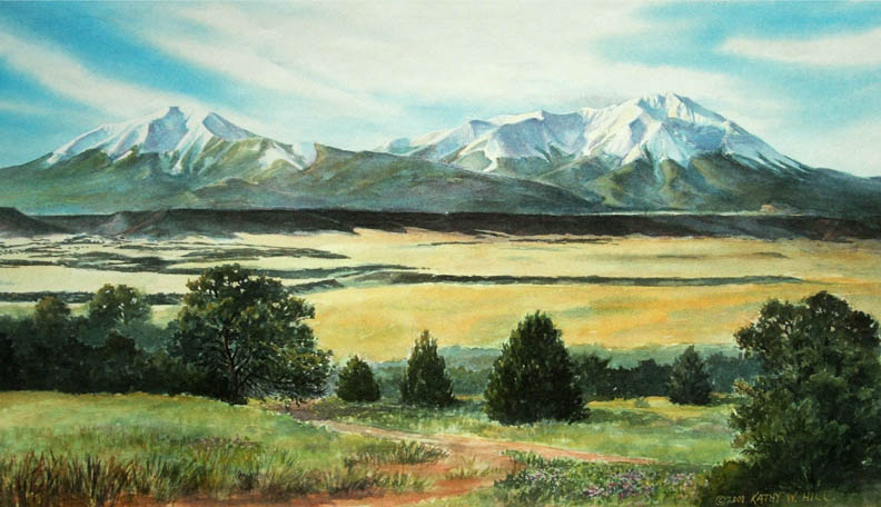 Early Summer on the Spanish Peaks - C