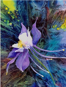 Lovely Columbine Print