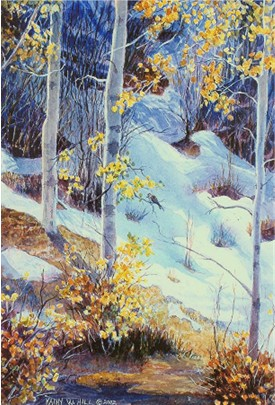 October Snow - Print