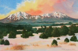 Winter Sunrise with Spanish Peaks