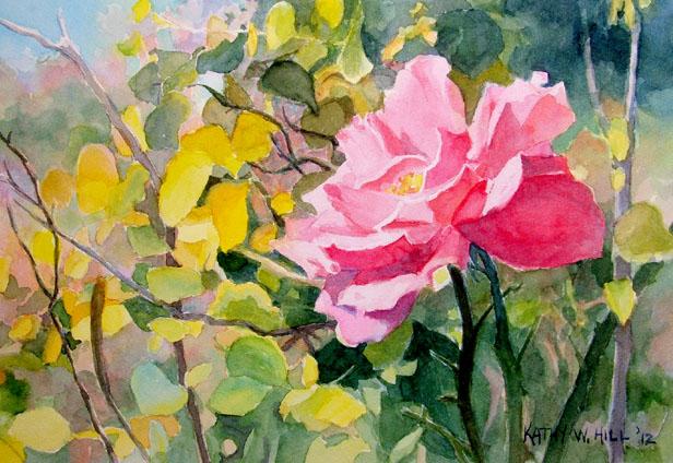 Autumn Rose - print