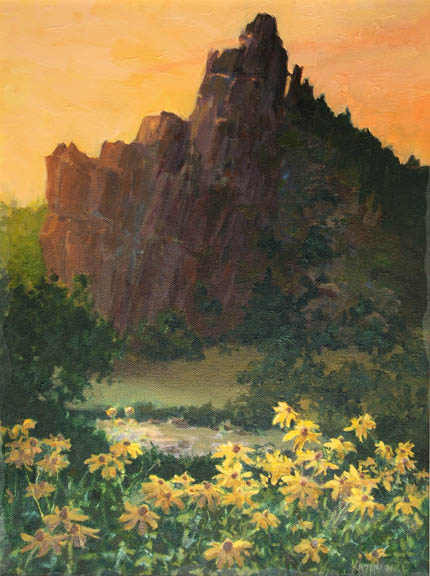 Stonewall and Sunflowers