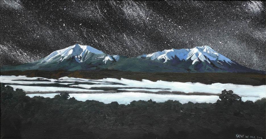 Starry Spanish Peaks