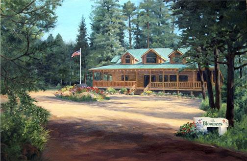 Bloomer's Cabin in Cuchara