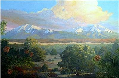 Huajatolla Wilderness Sunset