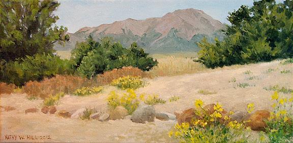 West Spanish Peak in Summer