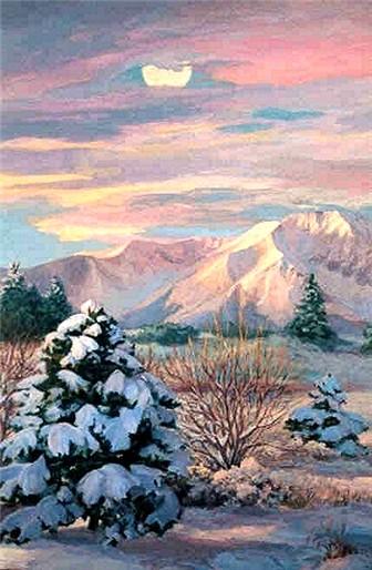 West Peak Rising