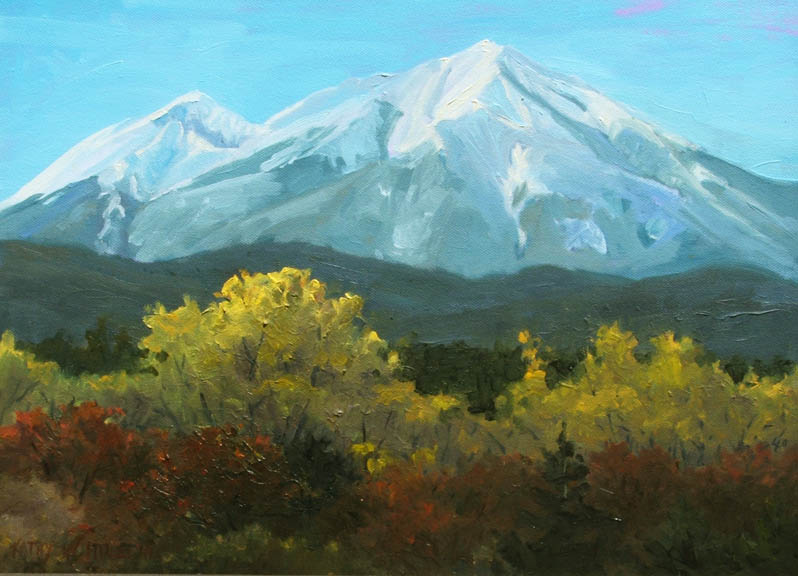 "Enchanting Southern Colorado - 12""x 16"" oil on canvas - $295"