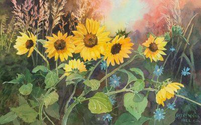 Sunny Sunflowers - print