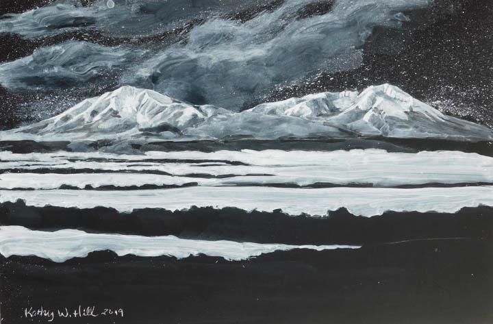 Nocturnal Snowy Spanish Peaks