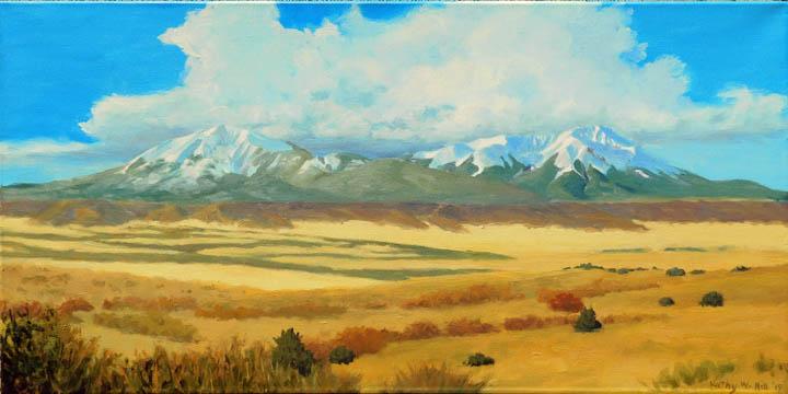 Spanish Peaks: Monarchs of the Plains
