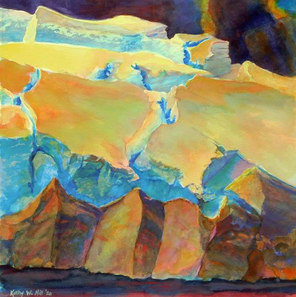 Thwaites Glacier Breaking Up